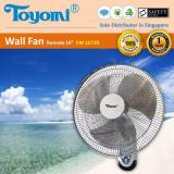 Toyomi Fw 1673R 16 Wall Fan With Remote Best Buy