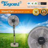 Toyomi Stand Fan With Timer Fs 1638 Sale