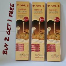 Traditional Ear Candles Ancient Indian Ritual 2 pieces  (Buy 2 Get 1 Free)