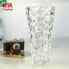 Simple Transparent Glass Lucky Bamboo Living Room Vase Best Buy