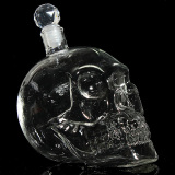 Compare Prices For Transparent Hand Blown Crystal Skull Head Vodka Whiskey Wine Shot Glass Bottle Bar Home Drinking Ware 1000Ml Intl