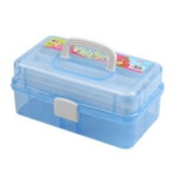 Buy Transparent Nail Art Box Storage Case Jewelry 3 Layers Plastic Container Box Intl Online China