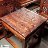 Compare Price Transparent Square Crystal Cloth Waterproof Tablecloth Coffee Table Mat Pvc Plastic Transparent Mat Surface Oil Disposable Oem On China