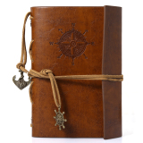Cheapest Traveler S Handbook 1Pc Vintage Diary Leather Travel Planner Notebook Journal Export Online