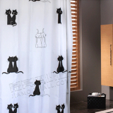 Top 10 Cute Waterproof Anti Mildew Polyester Shower Curtain Couple S Cat