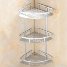Triangular Shower Caddy Shelf Bathroom Wall Corner Rack Storage Organizer Holder - Intl By Audew.