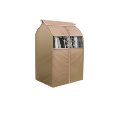 Best Tsing 1 Pack Garment Covers 420D Oxford Fabric Storage Bag Beige M Size 80 × 58 × 88Cm Intl