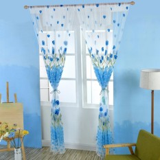 Tulip Curtains Transparent Window Screening - intl