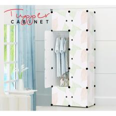Sale Tupper Cabinet 10 Cubes Diy Wardrobe Organizer Leaf Design Tupper Cabinet Wholesaler