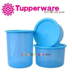 Price Tupperware Airtight One Touch Topper Blue 3In1 Set 600Ml 950Ml 1 25L Tupperware New