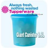 Sale Tupperware One Touch Topper Giant Canister 8 6L Tupperware Branded