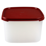 Best Rated Tupperware Plastic Square No 2 Dried Goods Box Freshness Box