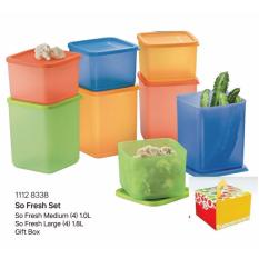 Tupperware So Fresh Fridge Dry Wet Storage 8Pcs In Stock