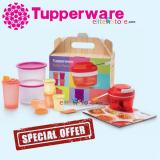 How Do I Get Tupperware Turbo Pack Gift Set With Recipe Book Food Container