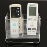 Tv Remote Control Phone Key Pen Glasses Organizer Storage Box Clear Stand Holder Intl Best Price