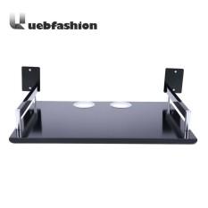 Uebfashion TV Set-top Box Holder Aluminum Shelf for Storage Rack(Black)- - intl