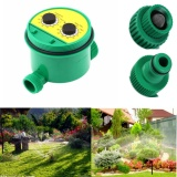 Two Dial Automatic Water Timer Garden Irrigation Controller Sprinkler Programs Lowest Price