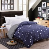 Sale Two Tone Pattern Sanding Cotton Duvet Quilt Cover Full Queen King Size Intl Oem Branded