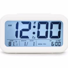Txl Easy To Set Alarm Clock Large Display Digital Alarm Clock Soft Night Light With Optional Backlight Month Date Office Home Alarm Clock For Teens Or Kids White Intl On China