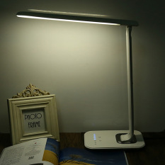Best Rated Tz 009U 12W Foldable Dimmable Rotatable Led Desk Lamp Eu Plug White Intl