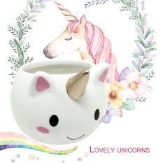Buy Ubest Cute Unicorn Shaped Mug 3D Ceramic Coffee Cup For Home Office Unique Ubest Intl Online China