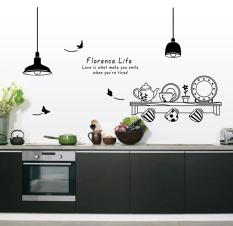 Ufengke Uf Wl0559 Kitchenware Wall Sticker Black Export For Sale