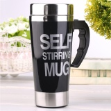 Best Deal Uinn Stainless Lazy Self Stirring Mug Auto Mixing Tea Coffee Cup Office Gift Yd008 Intl