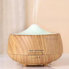 Ultrasonic Aroma Diffuser and Humidifier - Light Wood