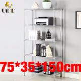 Umd 5 Tier Anti Rust Carbon Steel Storage Rack Shelf Js 203 Silver Deal