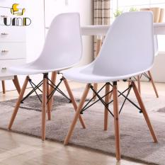 Brand New Umd Eames® Molded Plastic Dowel Leg Side Chair Dsw Leisure Dining Chair White