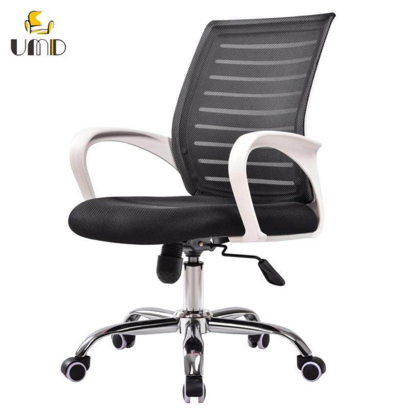 UMD Ergonomic Mid-Back mesh office chair  W11 (white frame black) (Free Installation for purchase of 2 chairs & above) Singapore