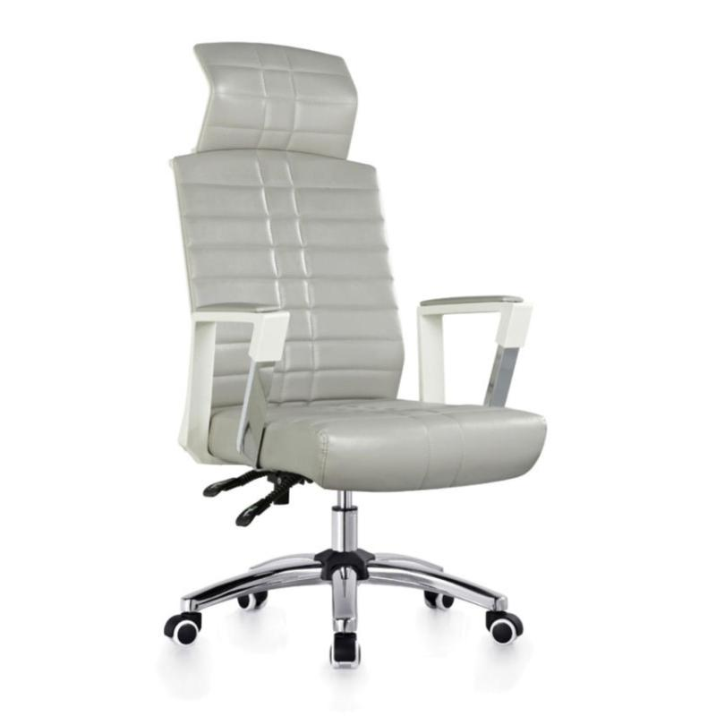 UMD Ergonomic New Design Executive Chair A359 (Light Grey PU)(Free Installation) Singapore