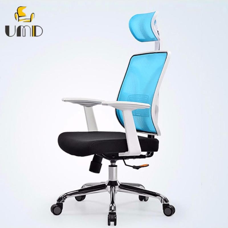 UMD High Back Mesh Ergonomic Office chair Stylish and Steady PC/Computer Chair ( Q37 White Frame) Singapore