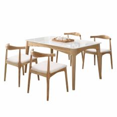 Umd Nordic Style Marble Top Dining Table (table Only / Size: 140l*80w*75h) By Umd Life.