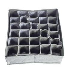 Compare Price Underwear Ties Socks Drawer 30 Cell Bamboo Charcoal Closet Storage Box On China