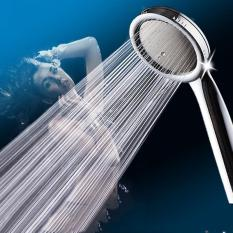 Cheapest Unique Fantastic New Super Booster Water Saving Hand Held Rainfall Shower Head For Bathroom Intl