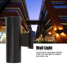 List Price Up Down Dual Head Outdoor Lighting Wall Lamps Cylinder Cob 6W Led Wall Light Intl Alphun