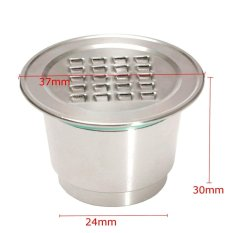 Best Deal Upgraded Stainless Steel Reusable Refillable Coffee Capsule Cup For Nespresso