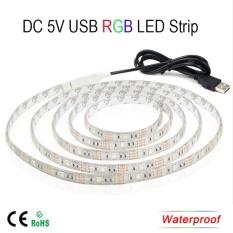 Sale Usb 5V 5050 Rgb Led Flexible Strip Wateproof Light Intl Angelila