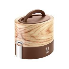 Vaya Tyffyn 600 Insulated Lunch Box Stainless Steel Leak Resistant Food Storage Container 100 Bpa Free Eco Friendly Reusable Kid S Lunch Box 20 3 Oz 2 5 Cups Total Capacity Maple Discount Code
