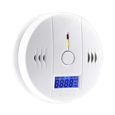VEECOME Household Carbon Monoxide Detector Honeycomb Briquet Alarm Device Coal Gas Warner - intl