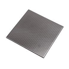 Ver Block Peel And Stick Design Stainless Steel Diy Interior Tile 10Cm X 10Cm 1Pcs Check Black Intl Reviews