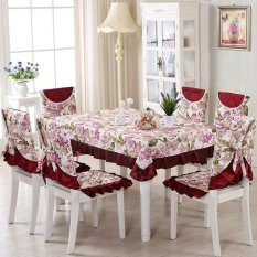 Vintage Floral Tablecloths Chair Cover Polyester Banquet Lace Coffee Table Cloth By Audew.