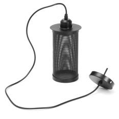 Vintage Industrial Pendant Lamp Hanging Light Ceiling Lighting Chandelier Shape - Black - intl