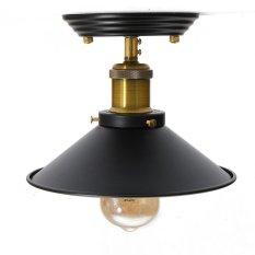 Sale Vintage Iron Fixture Ceiling Lamp Pendant Chandelier Light Decor With Scr*W Sets 160Mm Intl