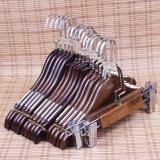 Best Buy Vintage Wooden Hanger Womens Clothing Store Slip *d*lt Children Children S Clothing Store Clothing Hanger Wood Hanging Trousers Clip Intl