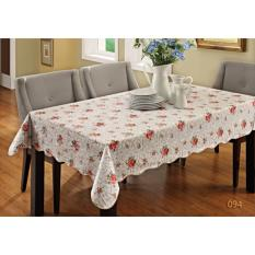 Review Vinyl Pvc Waterproof And Oil Proof Table Cloth For Dinning Table 137 183Cm 餐桌布 Dreamzhouse On Singapore