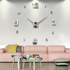 Vococal Modern Diy Large 3D Wall Sticker Clock For Home Office Decoration Deal