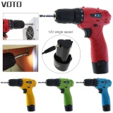 Review Voto Ac Cordless 12V Electric Screwdriver With Adjustment Switch And 18 Gear Torque Intl Oem On China