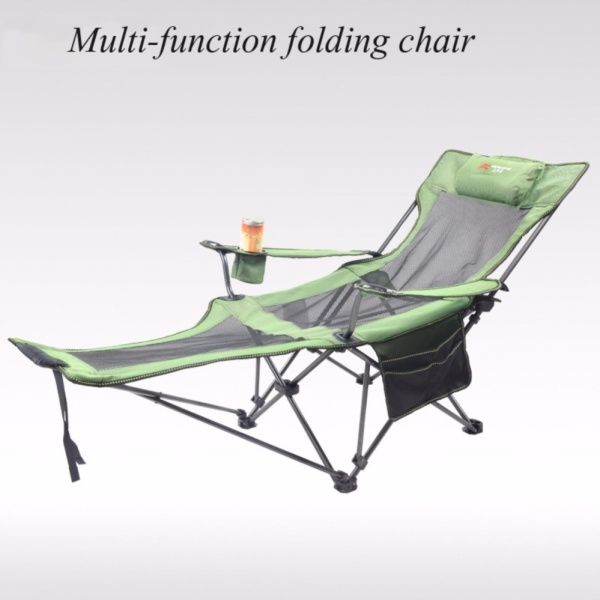 Walker outdoor folding chair chair portable backrest fishing chair field camping leisure beach stool - intl